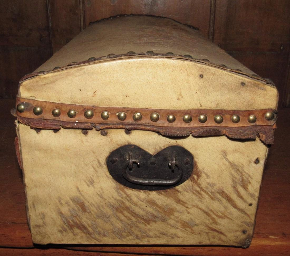 Curtis & Coolidge Leather Trunk - 2