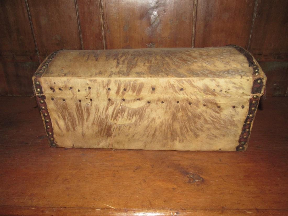 Curtis & Coolidge Leather Trunk - 3