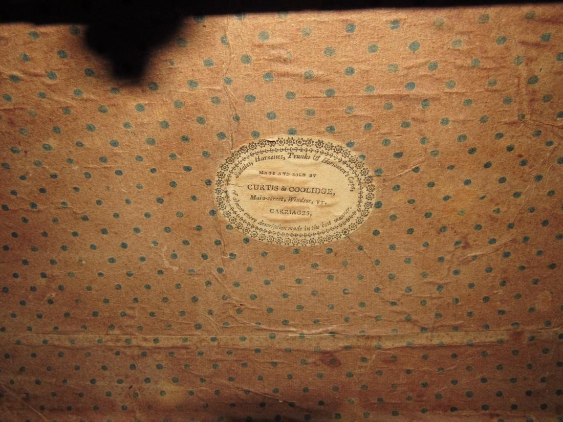 Curtis & Coolidge Leather Trunk - 6