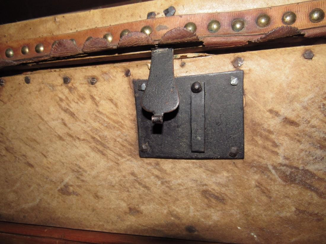 Curtis & Coolidge Leather Trunk - 7