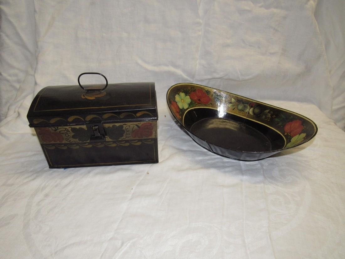 Toleware Document Box and Tray