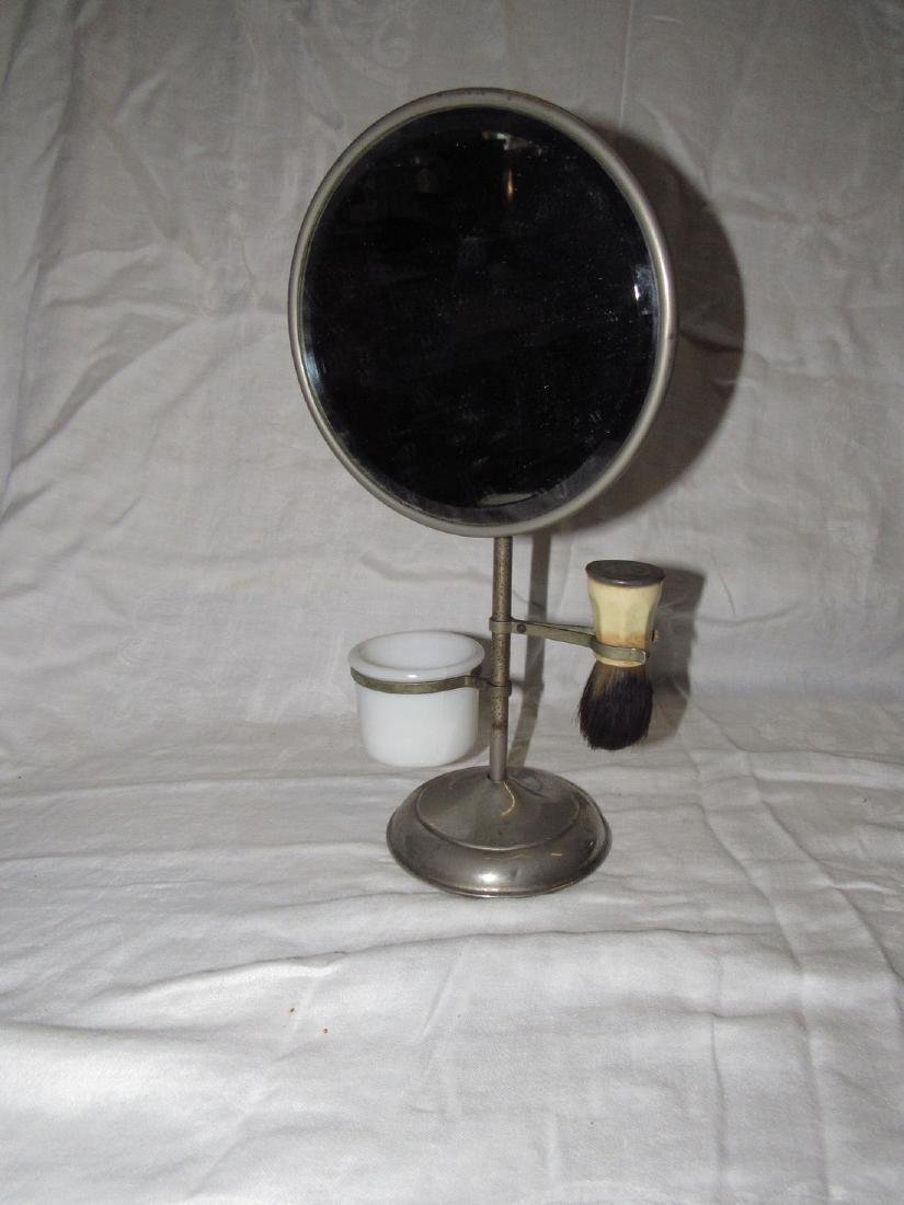 Shaving Set Mirror Brush Cup