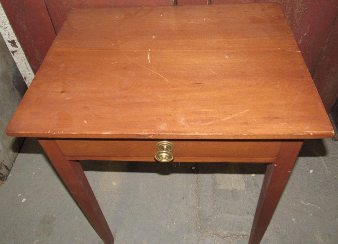 Nice One Drawer Stand w/ Tapered Legs - 2