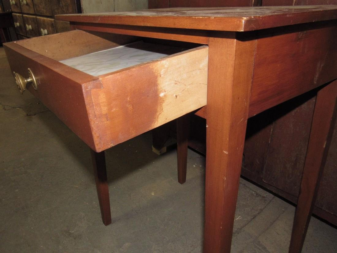 Nice One Drawer Stand w/ Tapered Legs - 3