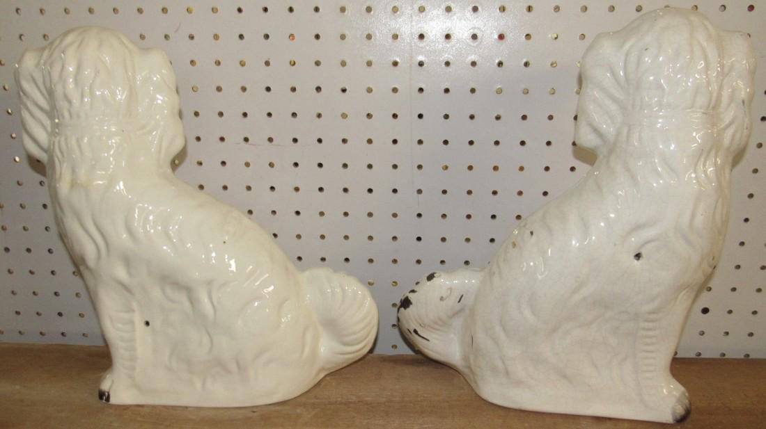 Pair of Staffordshire Dogs - 4