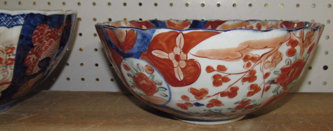 2 Oriental Imari Bowls - 3