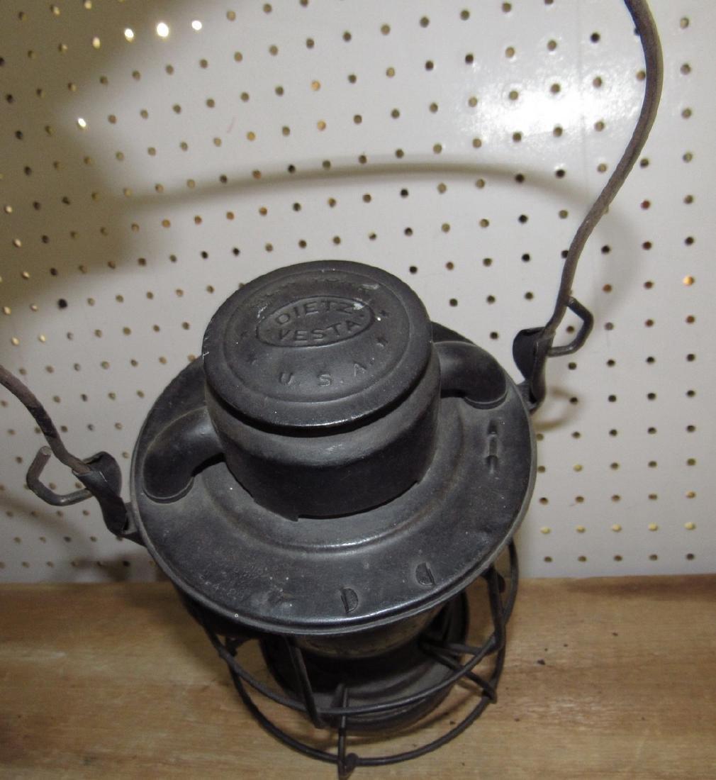 Dietz NYC Lines Railroad Lantern - 4