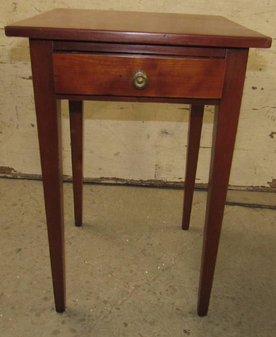 One Drawer Stand w/ Tapered Legs