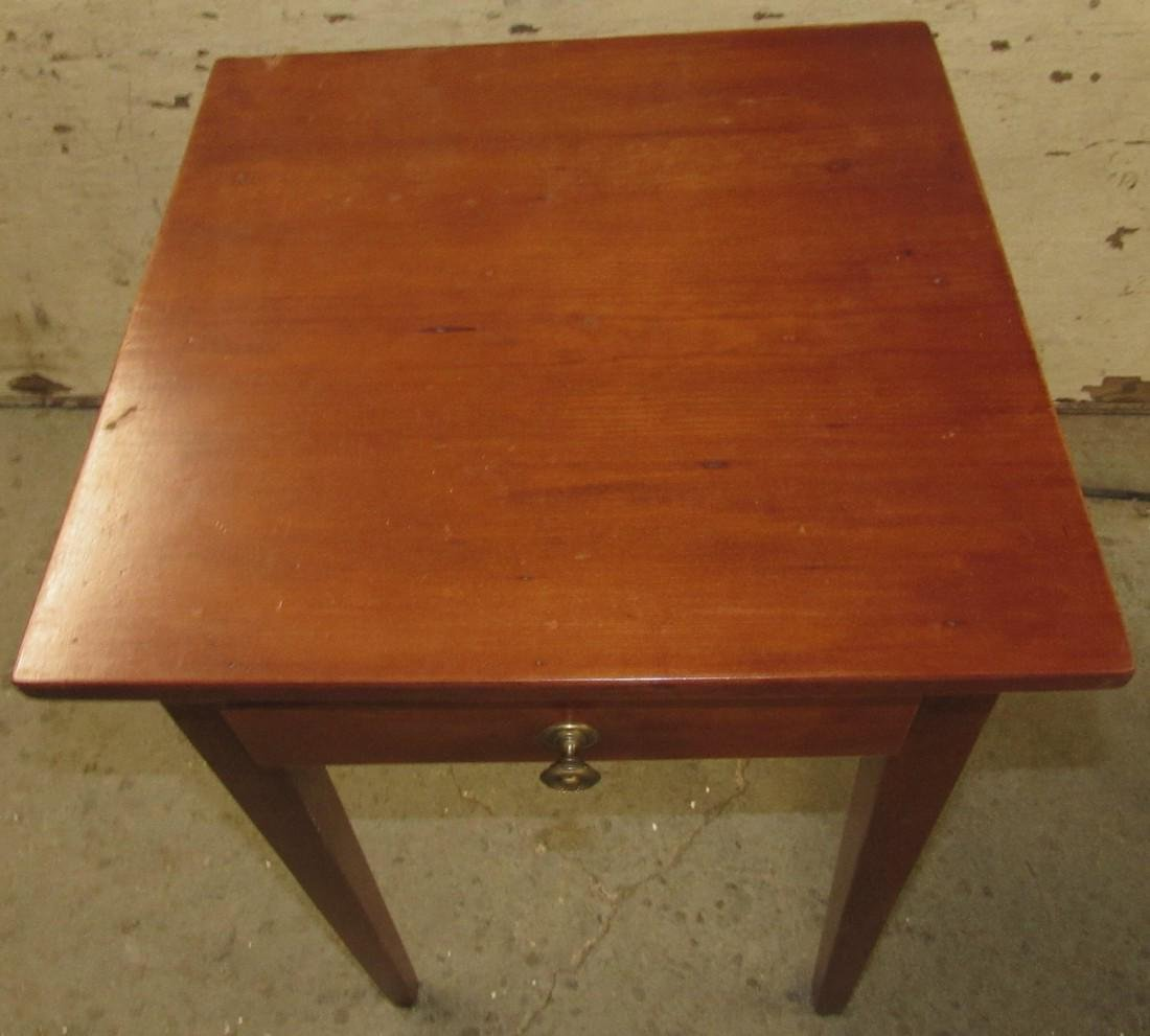 One Drawer Stand w/ Tapered Legs - 2