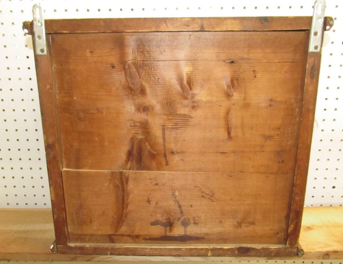 Early Hanging Display Cupboard w/ Dovetailed Case - 5