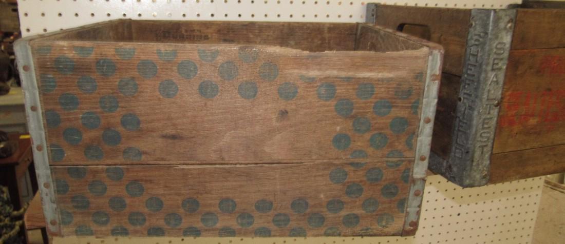 2 Wooden Crates Sealtest - 3