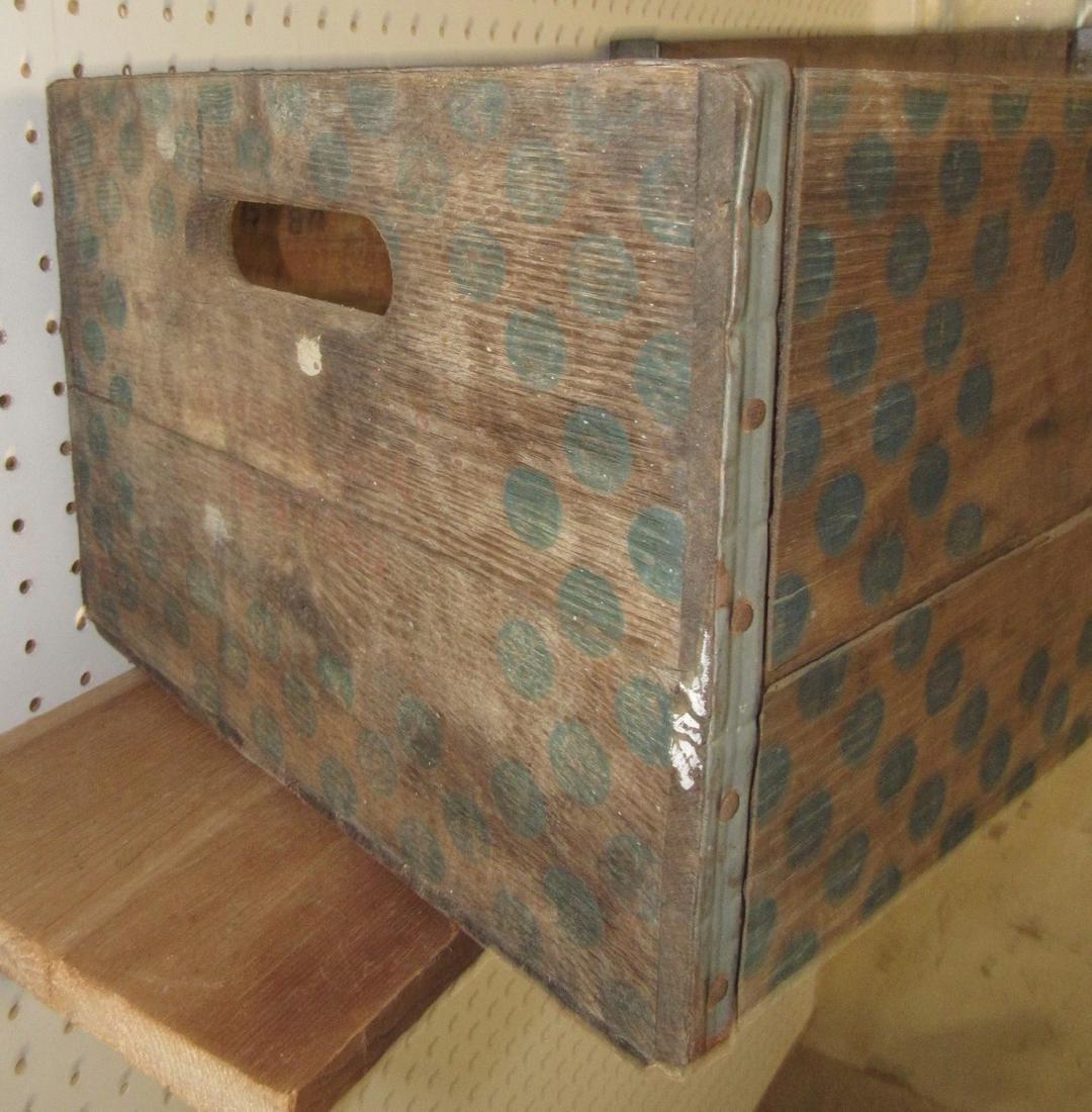 2 Wooden Crates Sealtest - 4