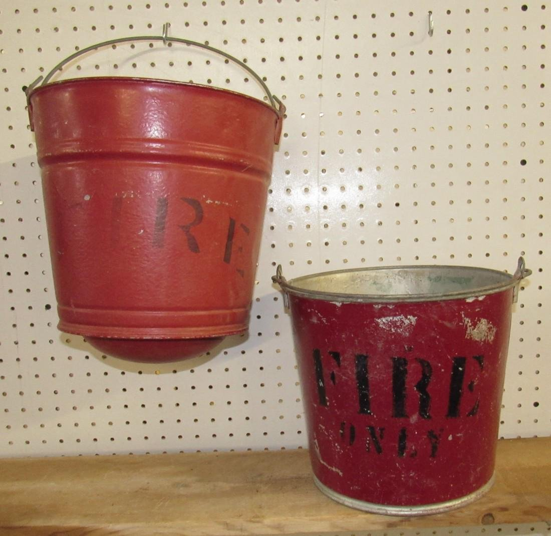 2 Fire Buckets