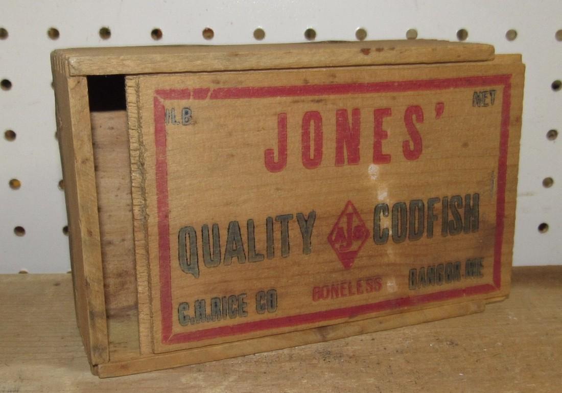 Jones Codfish Box
