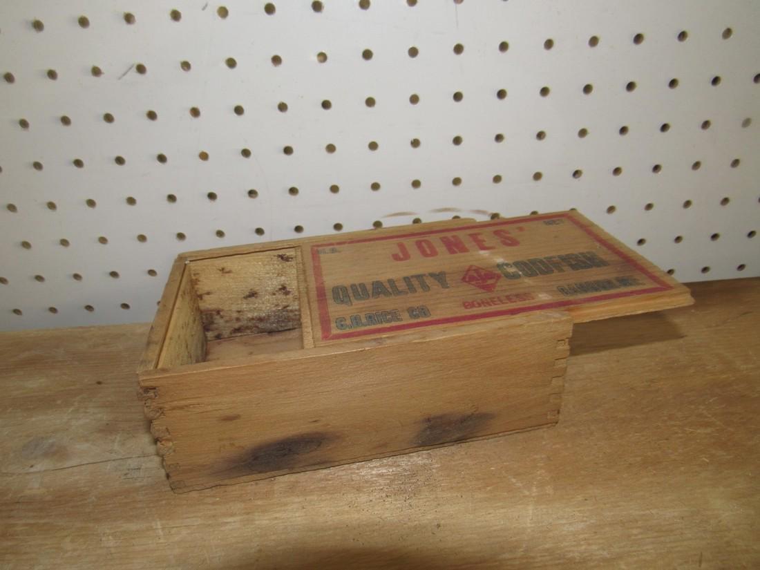 Jones Codfish Box - 2