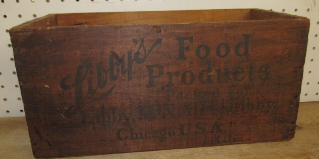 Libby's Food Products Wood Crate - 3