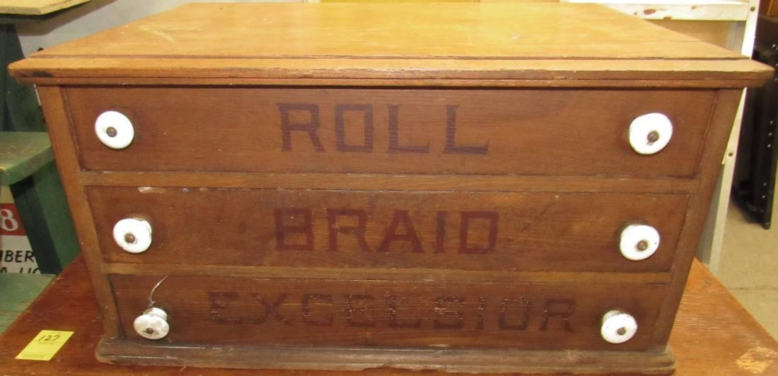 Excelsior Roll Brand Cabinet