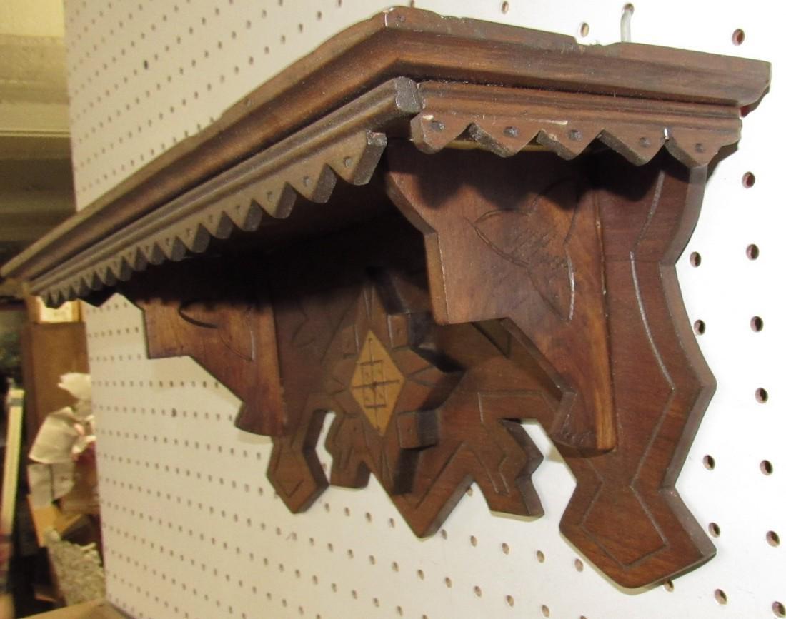 Victorian Clock Shelf - 3