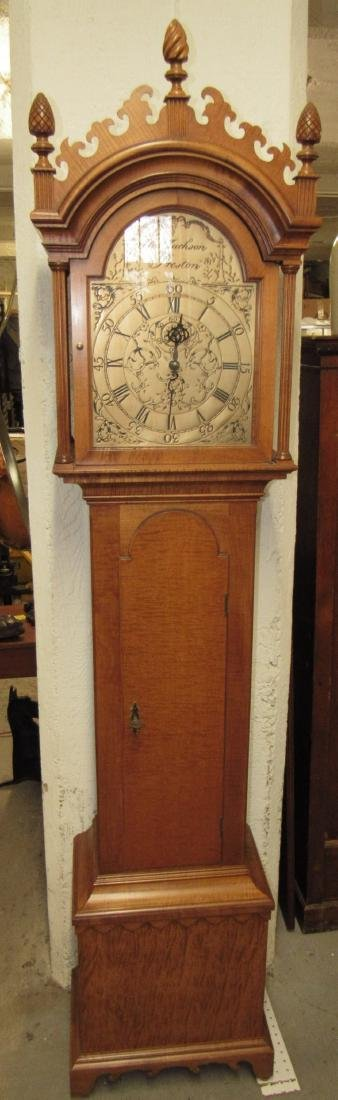 New England Style Grandfather Clock