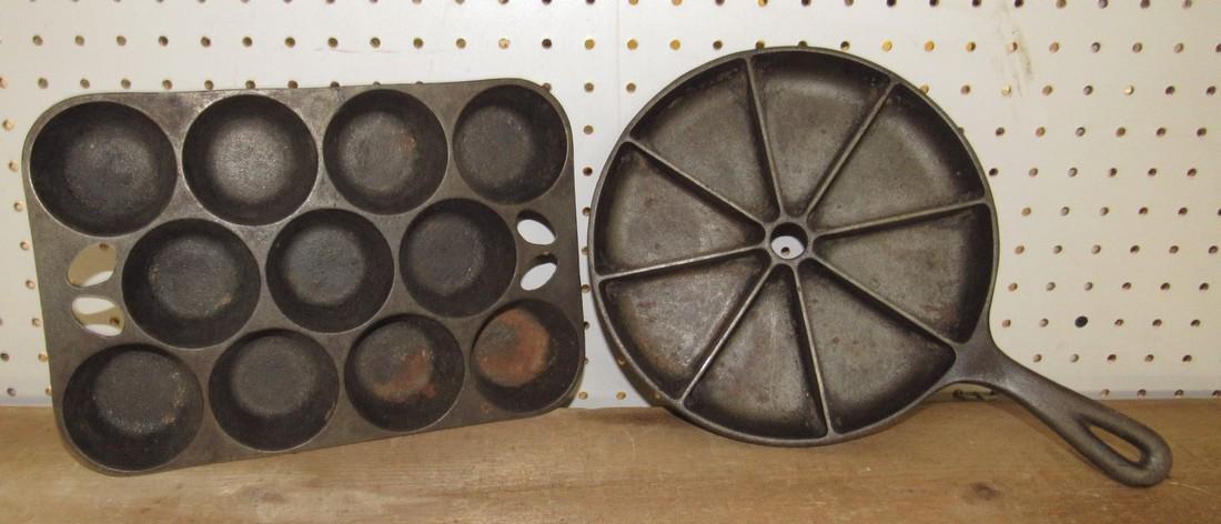 Cast Iron Muffin / Gem Pans