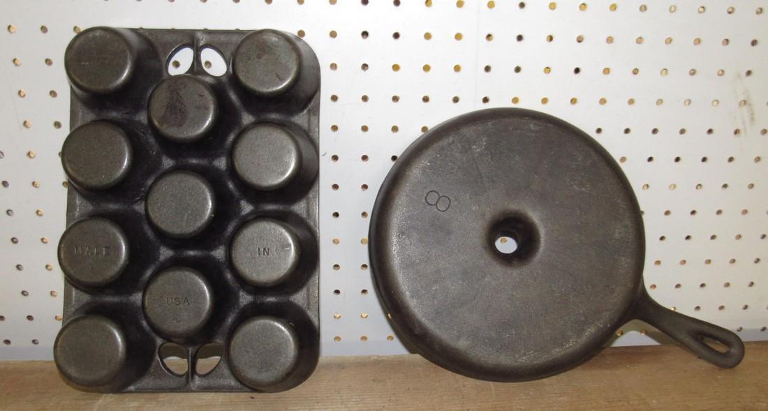 Cast Iron Muffin / Gem Pans - 2