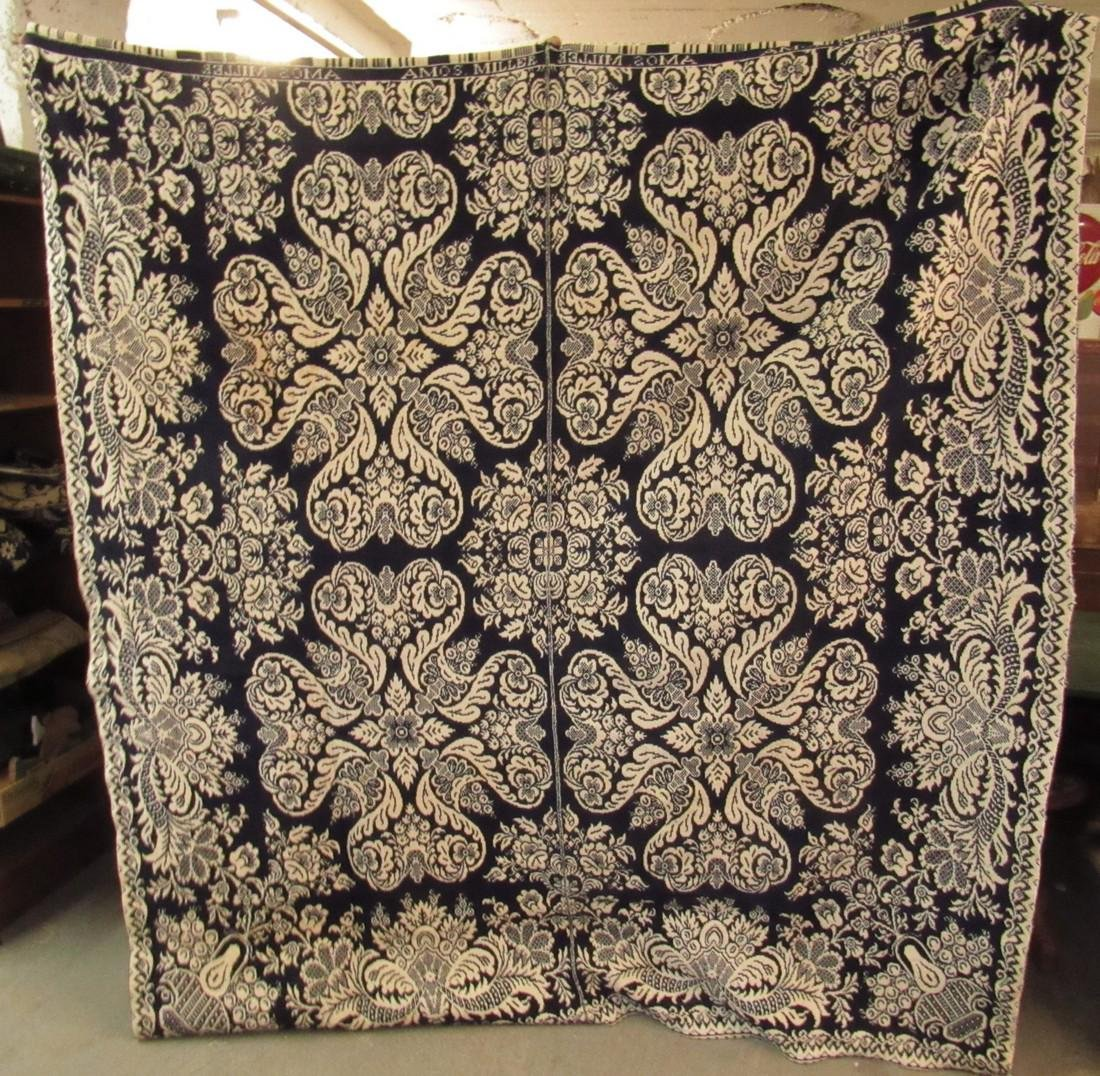 2 Piece Amos Miller Coverlet