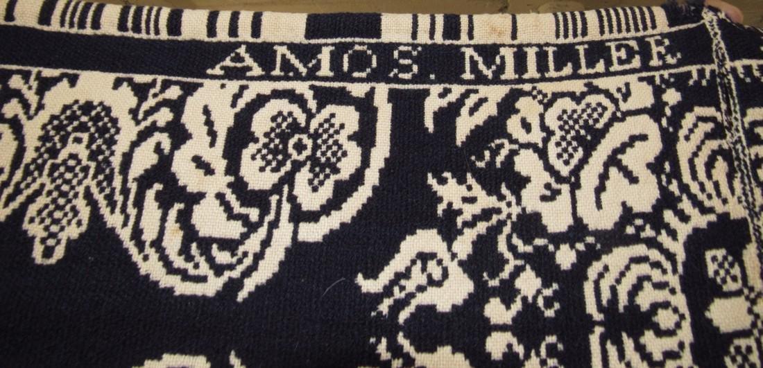 2 Piece Amos Miller Coverlet - 2