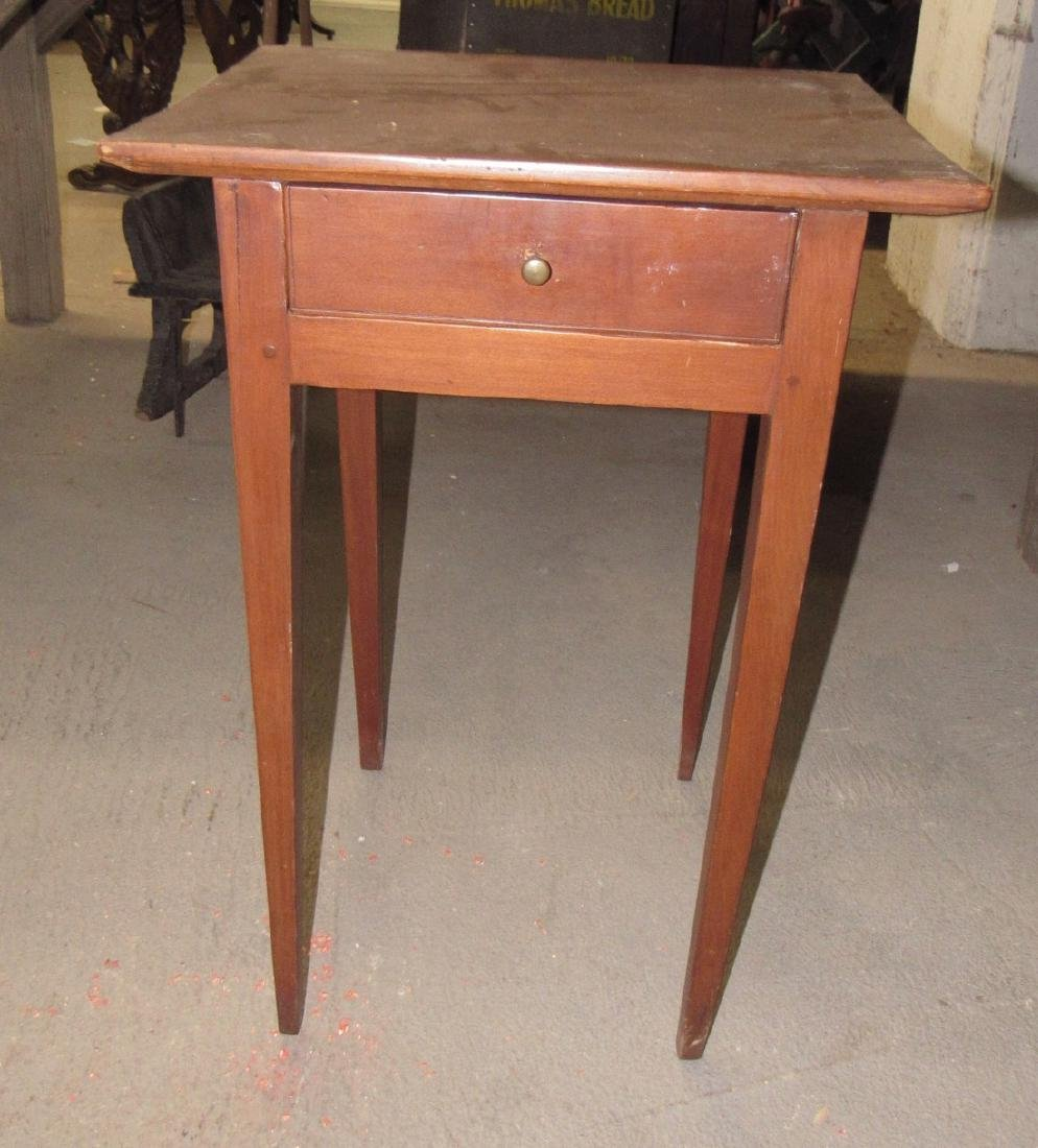 Tapered Leg One Drawer Stand