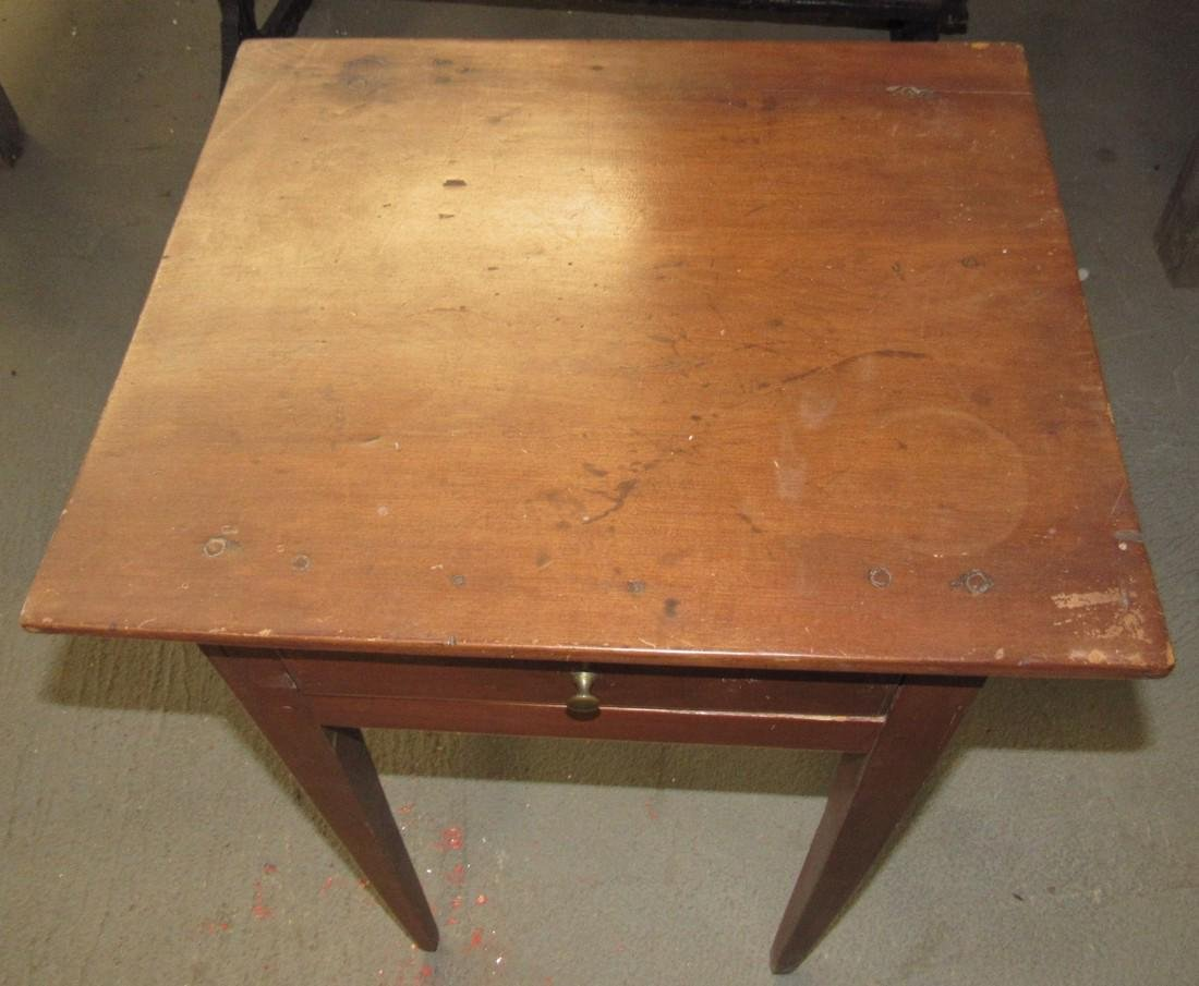 Tapered Leg One Drawer Stand - 2