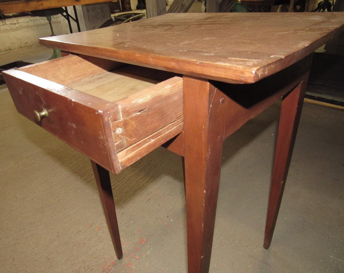 Tapered Leg One Drawer Stand - 3