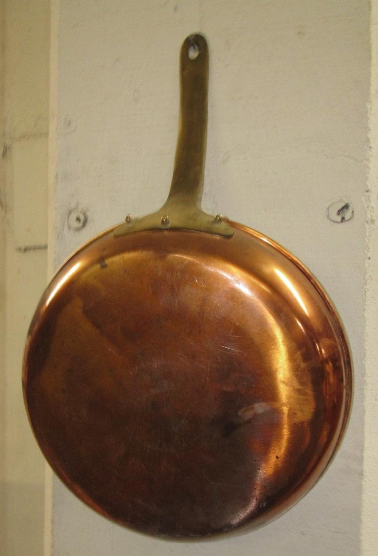 Large Copper Pan
