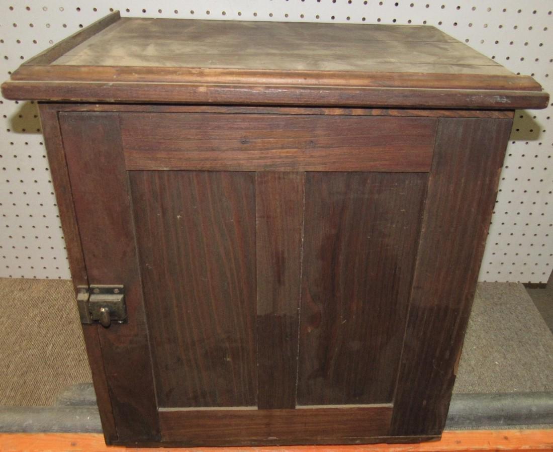 12 Slot Oak Cubbyhole Cupboard