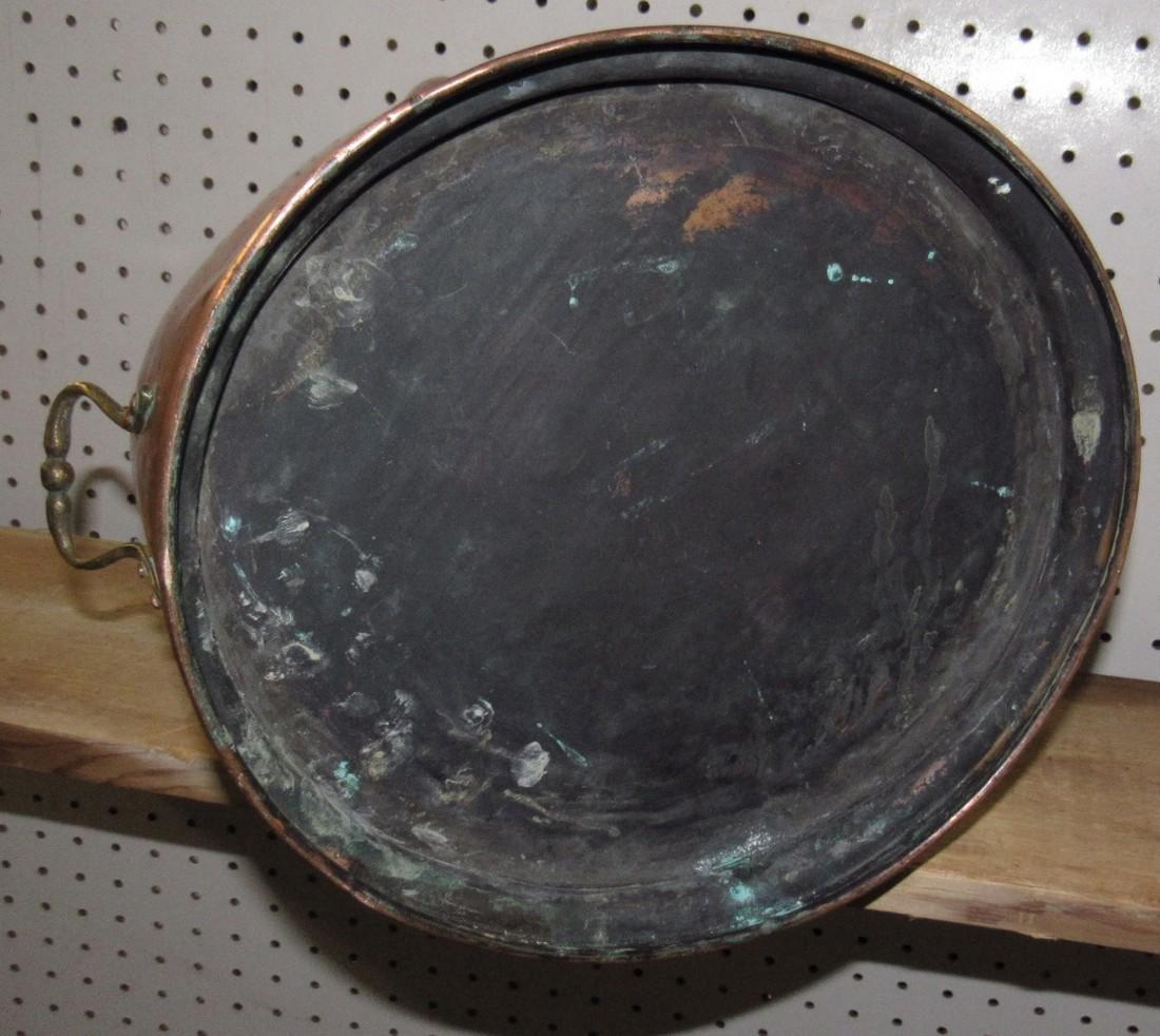 Copper Coal Scuttle - 3