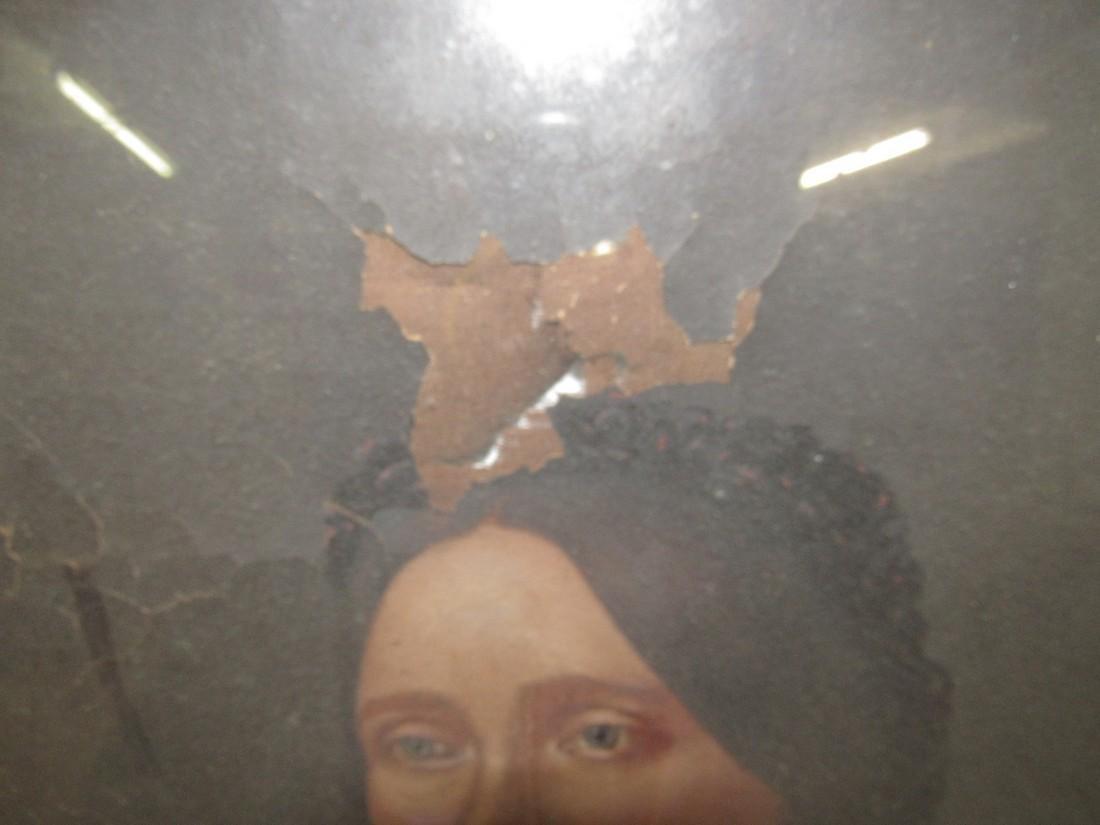 2 Portrait Oil Paintings - 2
