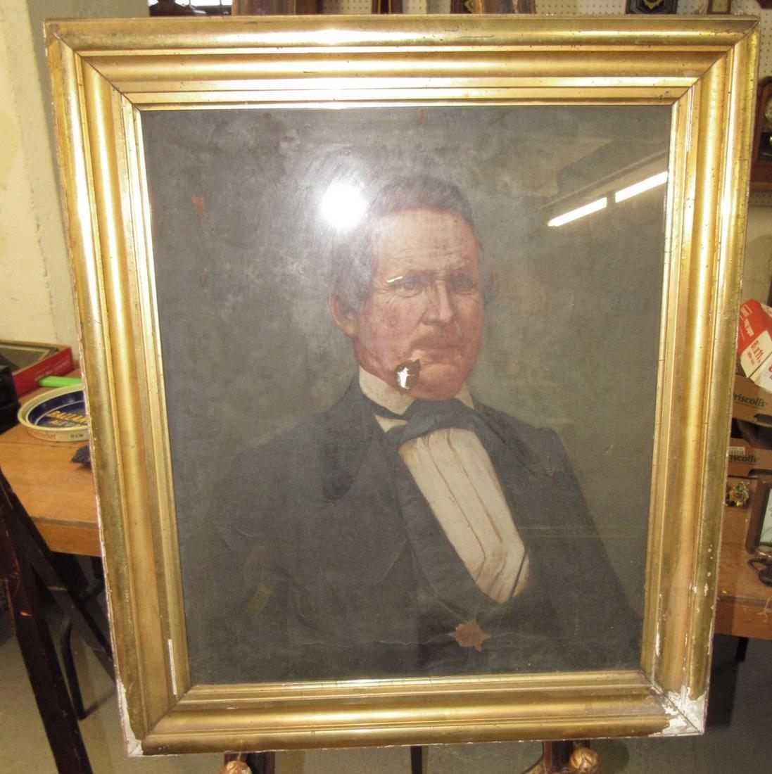 2 Portrait Oil Paintings - 5