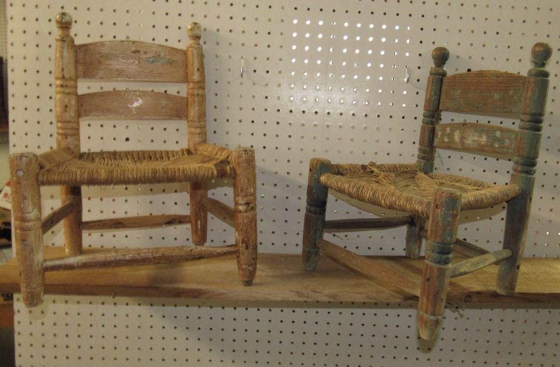 2 Childrens Chairs