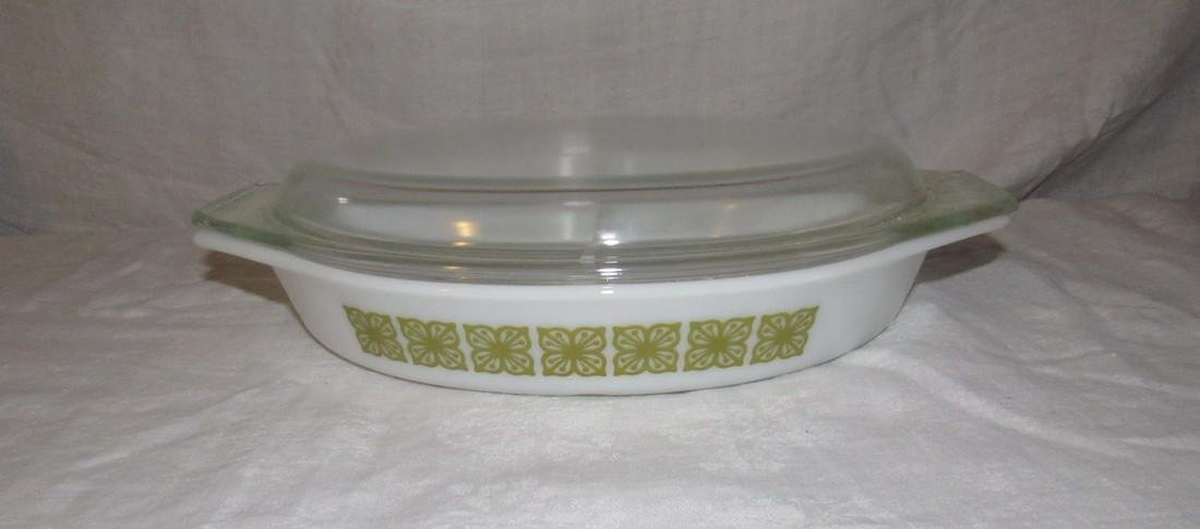 Pyrex 1 1/2 Quart Divided Casserole