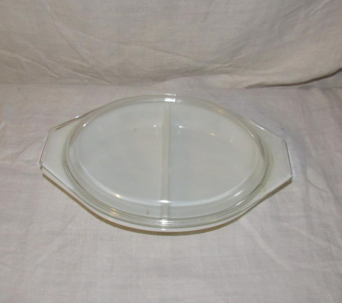 Pyrex 1 1/2 Quart Divided Casserole - 2