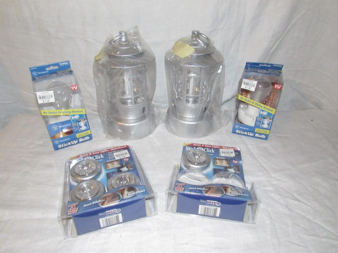 Battery Operated Lanterns Stick Up Bulbs