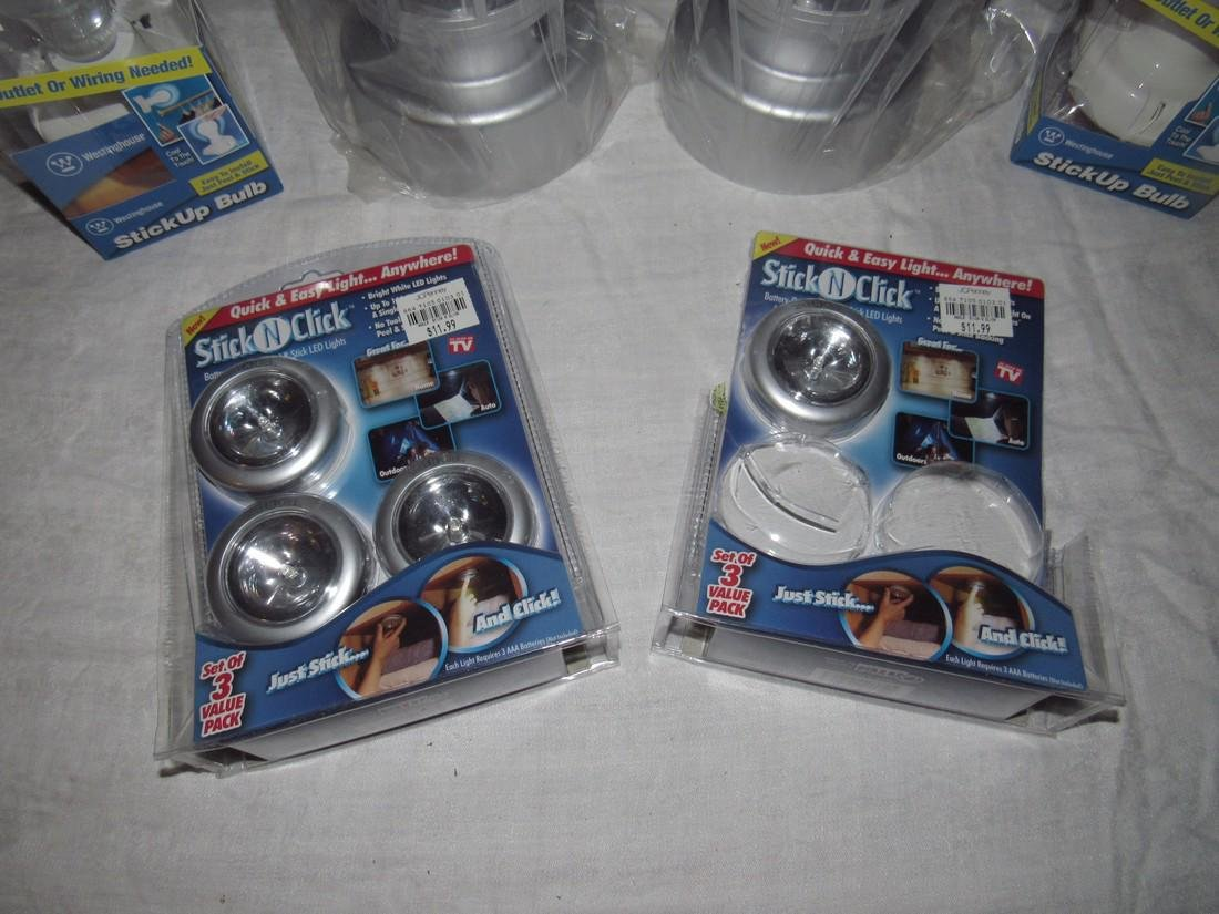 Battery Operated Lanterns Stick Up Bulbs - 2