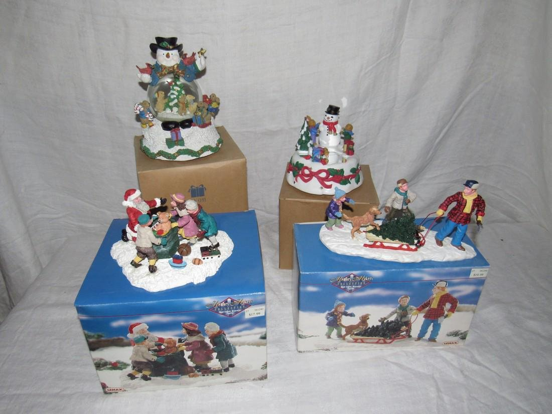 Memory Makers Figurines Avon Snow Globe