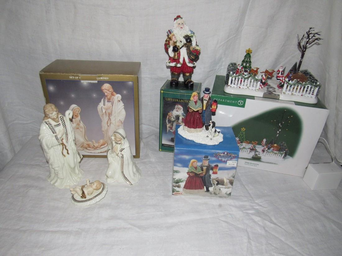 Nativity Figurines Department 56 Christmas Lemax