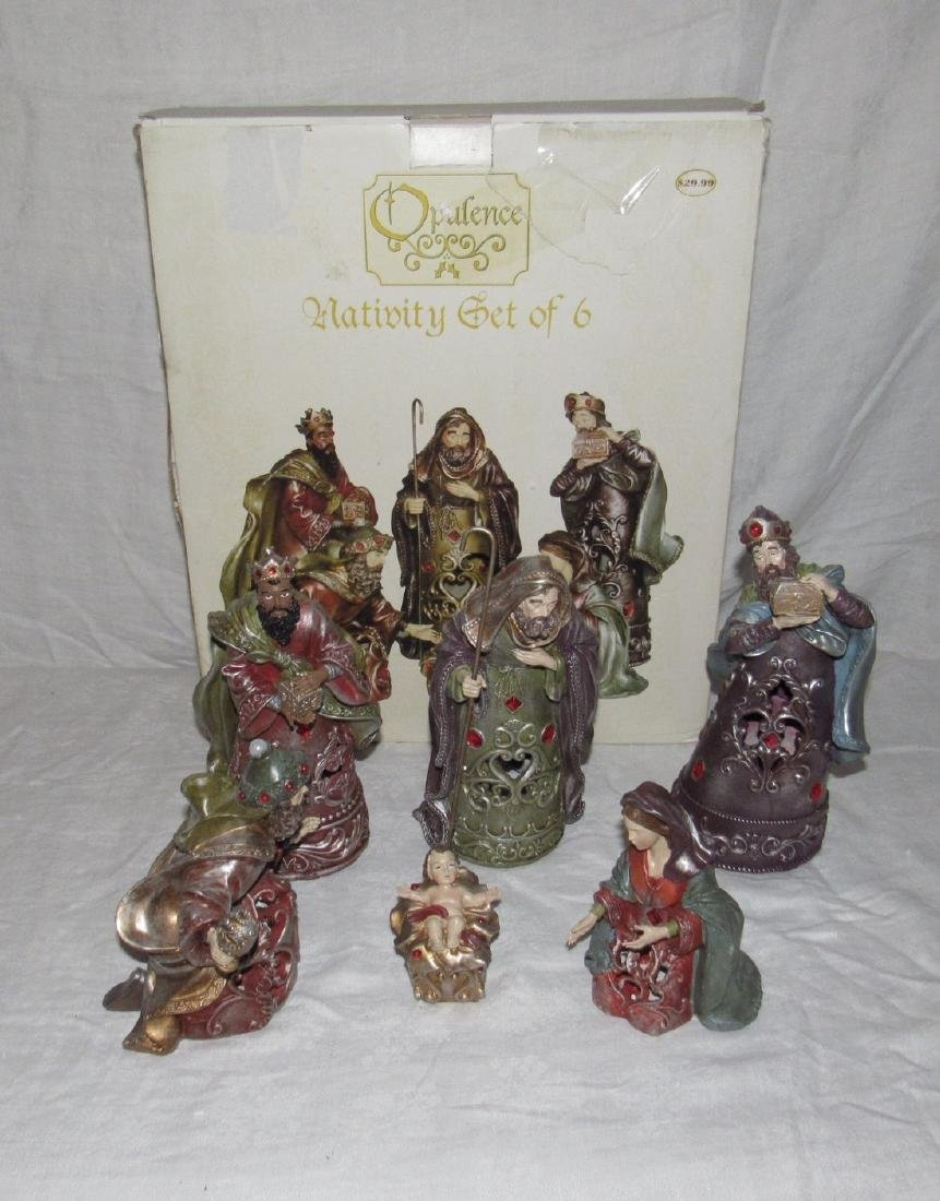 Opulence Nativity Scene