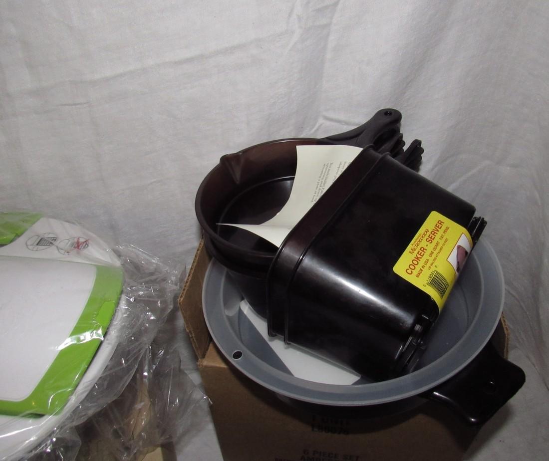 Genius Salad Cutting Grater Amberware Cookware - 2