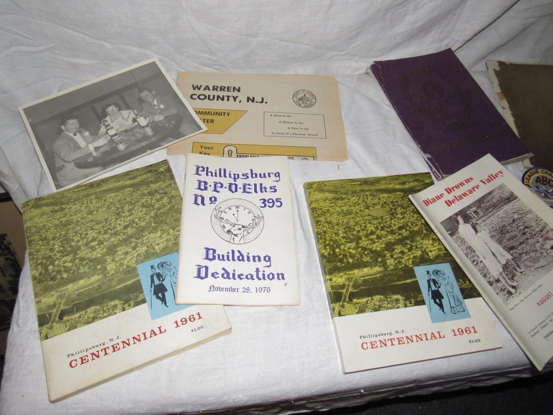 Phillipsburg NJ Yearbook Centennial Flood Elks - 2