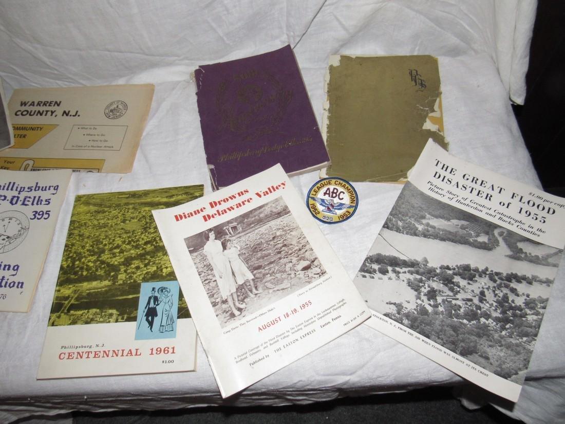 Phillipsburg NJ Yearbook Centennial Flood Elks - 3
