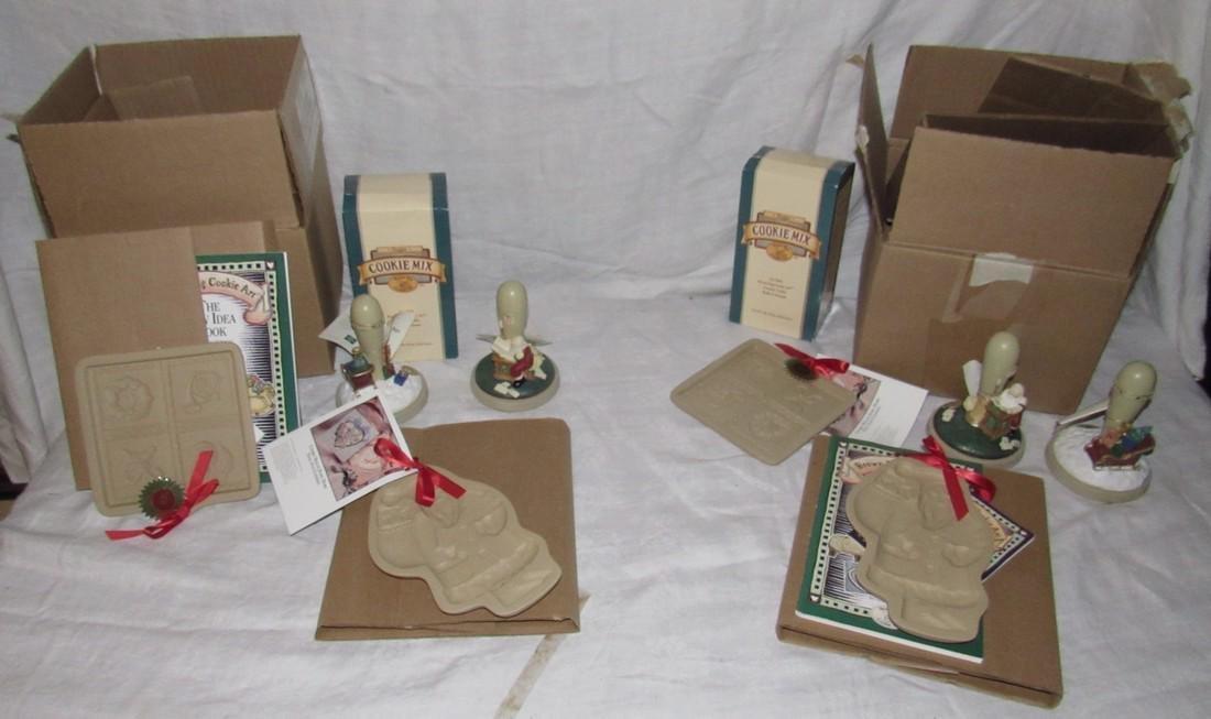 Brown Bag Christmas Cookie Stamps / Molds