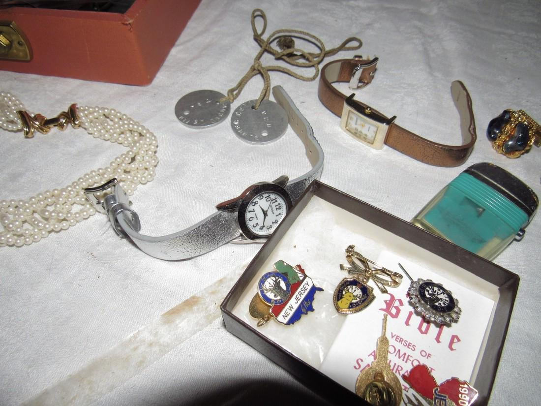 Jewelry Watches Pins Brooches Elks Lodge Cuff Links - 6