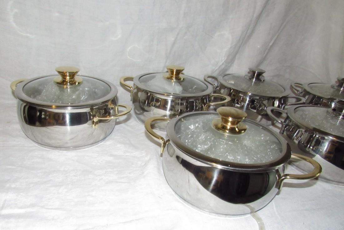 6 Cuisine Cookware Pots - 2