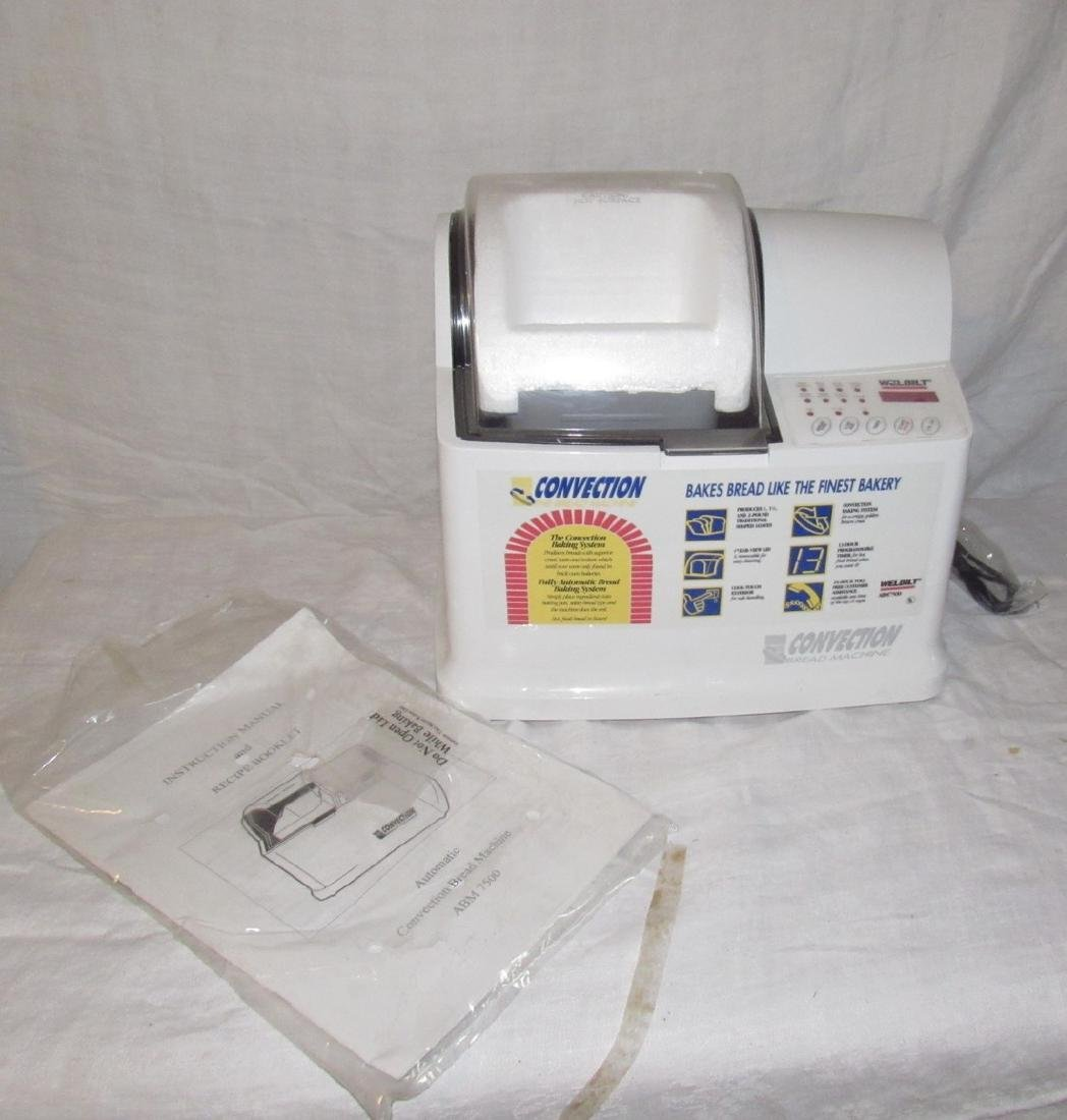 Welbilt Convection Bread Machine ABM 7500